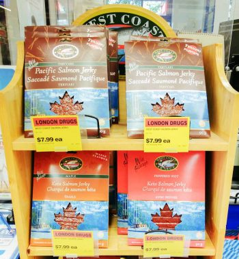 Salmon Jerky - The Best Souvenirs to Buy in Canada