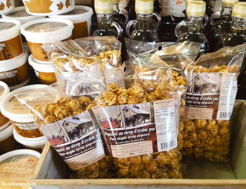 Maple Syrup Popcorn - Canadian Maple Syrup