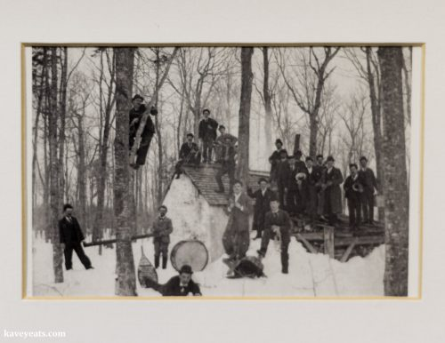 Historical Photo of Canadian Maple Syrup Producers