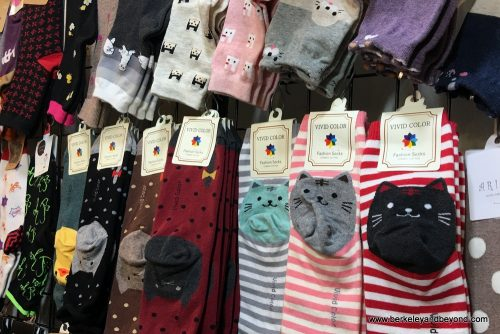 Cat Socks - The Best Souvenirs to Buy in Taiwan