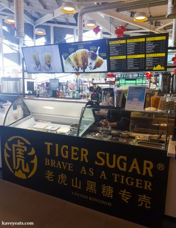 Tiger Sugar in Bang Bang Oriental Food Court, Colindale, North West London