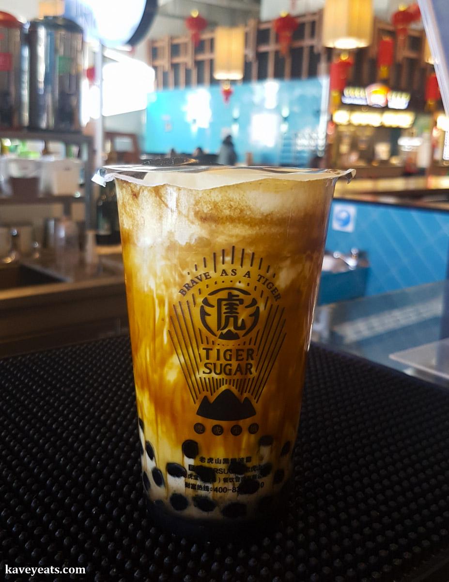 Tiger Sugar Boba Milk from Tiger Sugar in Bang Bang Oriental