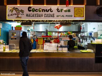 Coconut Tree restaurant in Bang Bang Oriental Food Court, Colindale, North West London
