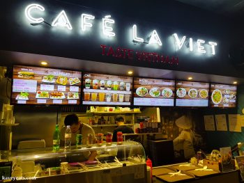 Café La Viet restaurant in Bang Bang Oriental Food Court, Colindale, North West London