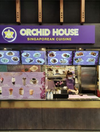 Orchid House restaurant in Bang Bang Oriental