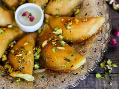 Atayef Middle Eastern Pancake