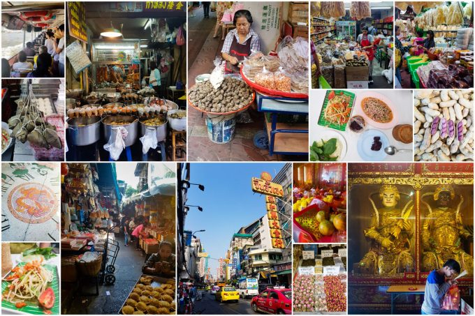 Bangkok, Thailand - Markets and Temples