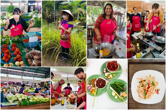 Scenes from Cookery Class with Asia Scenic in Chiang Mai, Thailand