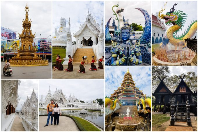 Temples and Tourist Attractions of Chiang Rai, Thailand
