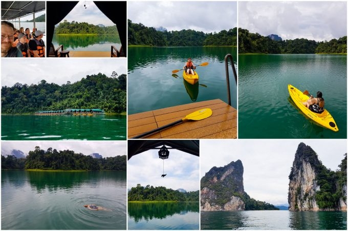 Floating Camp, Cheow Lan Lake, Khao Sok National Park, Thailand