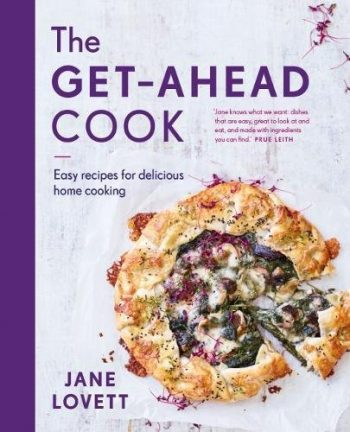 The GetAhead Cook by Jane Lovett (book jacket / cover)