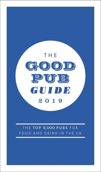 The Good Pub Guide 2019 by Fiona Stapley (book cover / jacket)