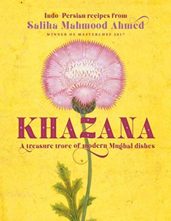 Khazana by Saliha Mahmood Ahmed (book dust jacket)