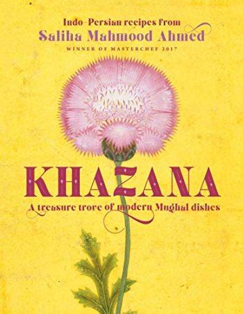 Khazana bySaliha Mahmood Ahmed (book dust jacket)