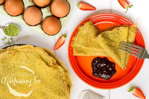 Matcha Tea Pancakes