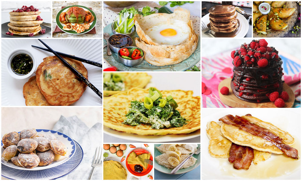12 Perfect Pancake Recipes for Pancake Day
