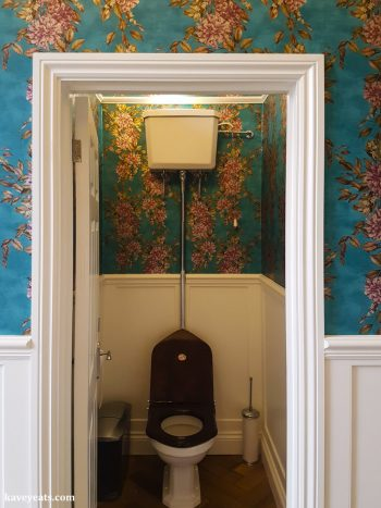 New guest bathrooms in the Italianate Mansion House at Leonardslee Gardens