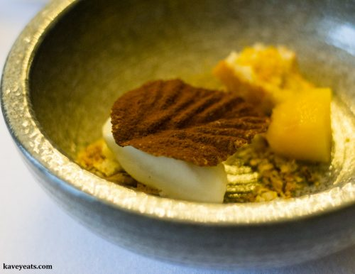 Sheeps Milk, Bulrush & Quince, Restaurant Interlude Tasting Menu