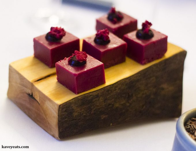 Beetroot & Elderberry, Restaurant Interlude Tasting Menu