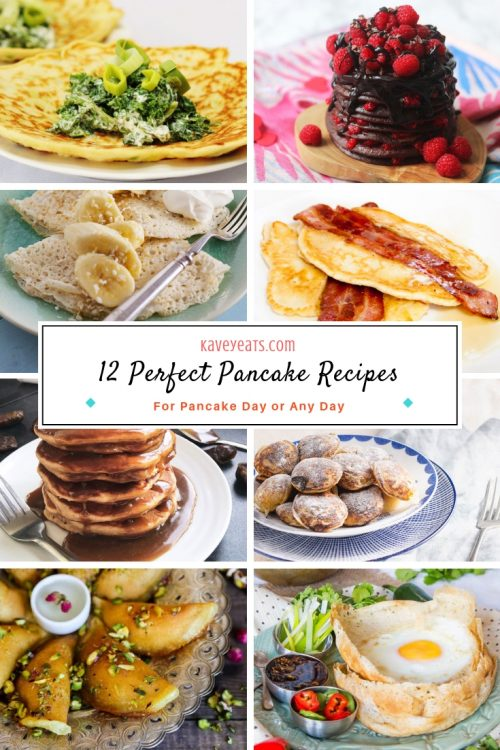 Collage of Pancake Recipes