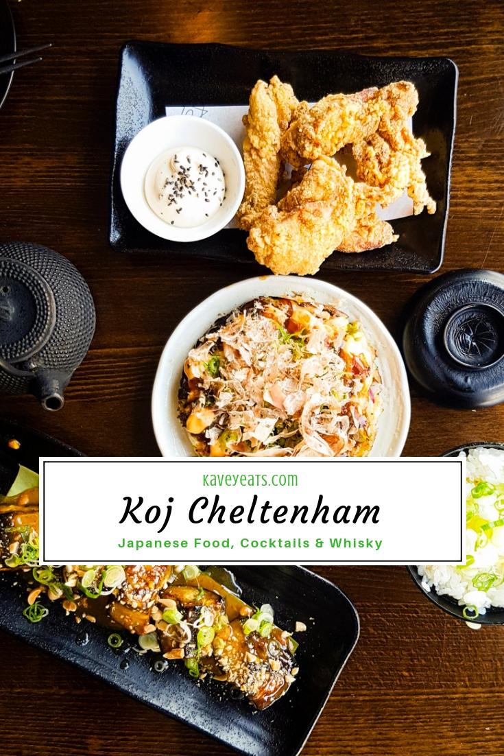 Koj Cheltenham | Japanese Food, Cocktails & Whisky - Kavey Eats