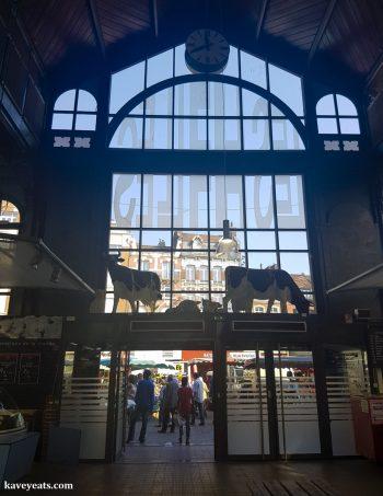 Marché Couvert de Wazemmes in Lille
