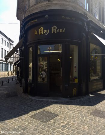 Exterior of Le Roy René store in Lille