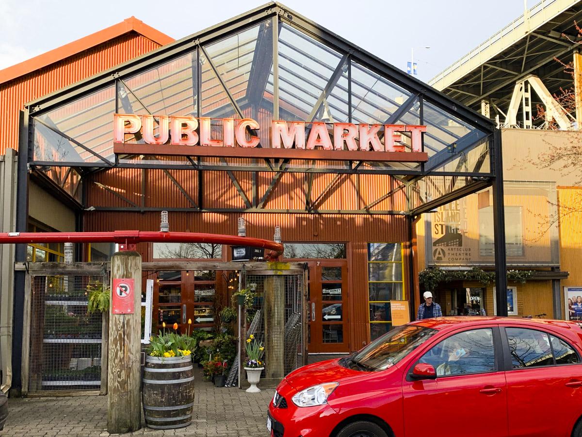 Vancouver's Granville Market