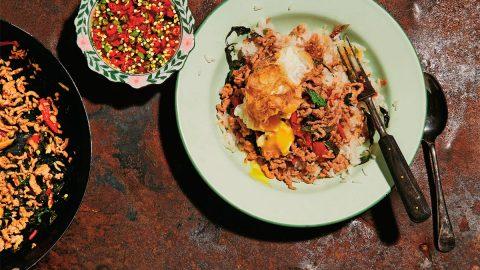 Thai Recipe   Pad Krapow Moo (Pork Stir-fried with Holy Basil) - Kavey Eats