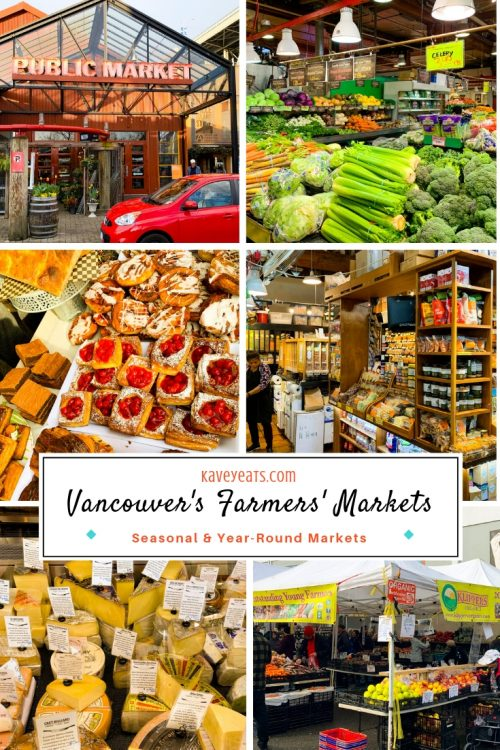 Vancouver Farmers Market collage