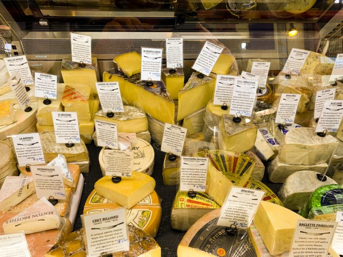 Cheese at a Vancouver Market