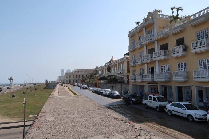 Sea views in Cartagena