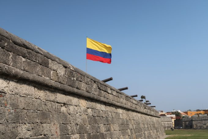 Cartagena's historical wall (UNESCO site)