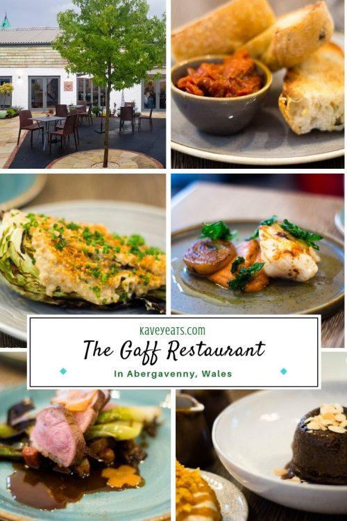 The Gaff Restaurant in Abergavenny