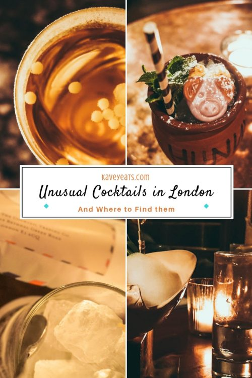 Unusual Cocktails in London and Where to Find them