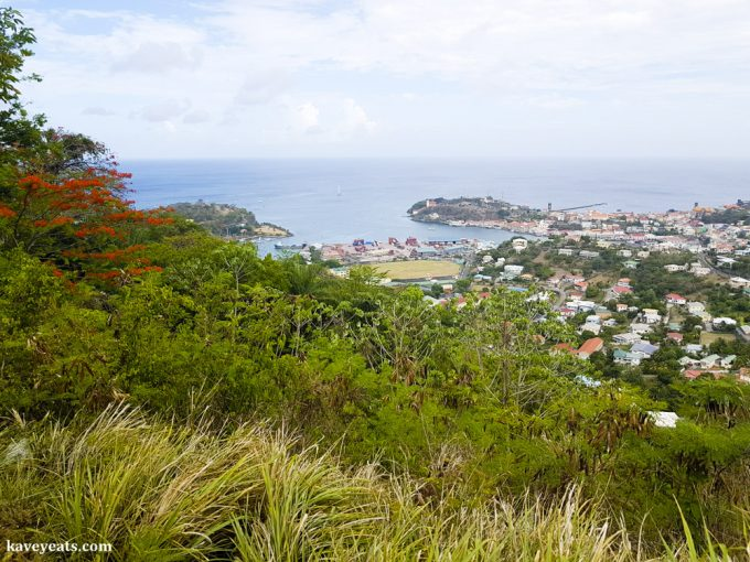 St George, Grenada in the Caribbean