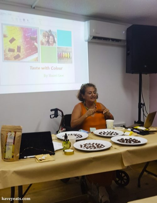 Magdalena Fielden, founder of the Grenada Chocolate Festival
