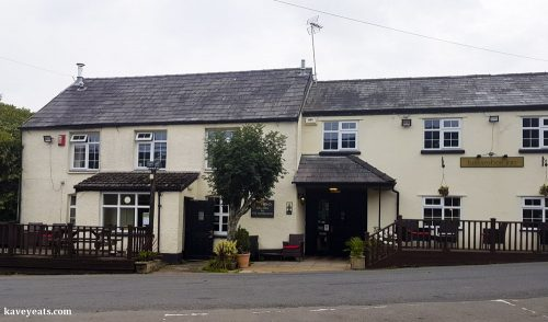 Traditional country pub, the Horseshoe Inn, Pontypool
