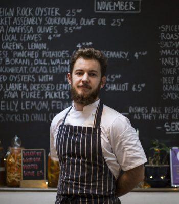 Josh Byrne, chef
