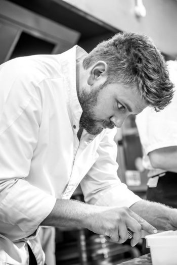 Matt Waldron, head chef at Park House Cardiff