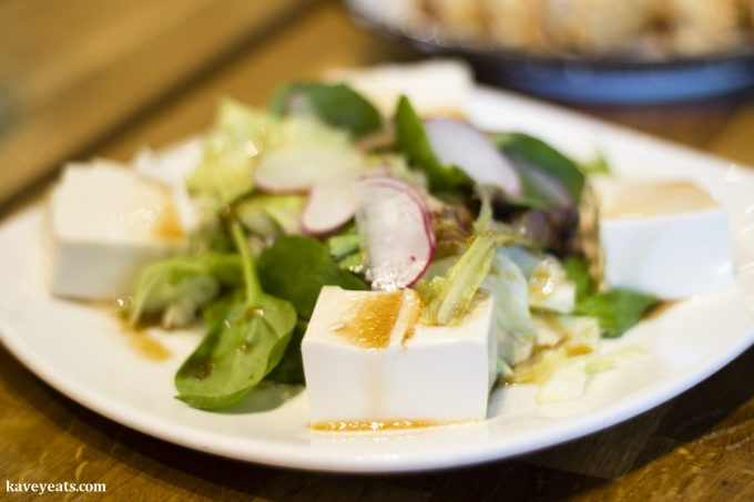Tofu Salad (Japanese Food)