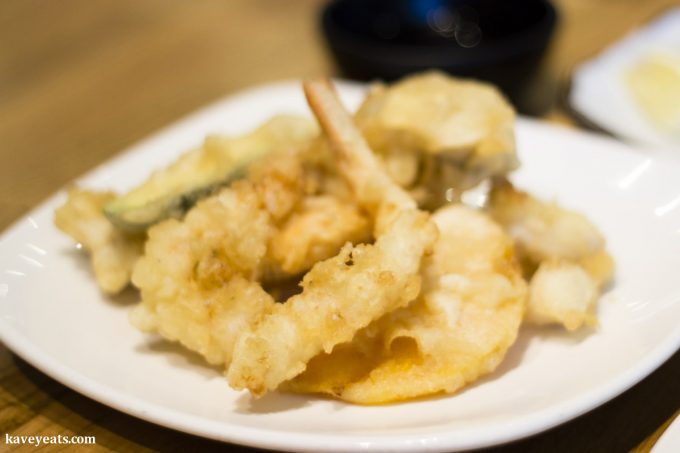 Mixed Tempura (Japanese food)
