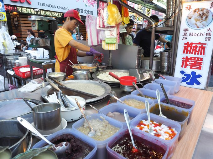 Ningxia night market, Taipei, Taiwan
