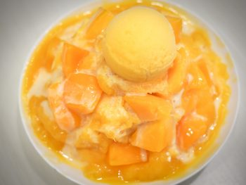 Mango shaved ice, Taiwan