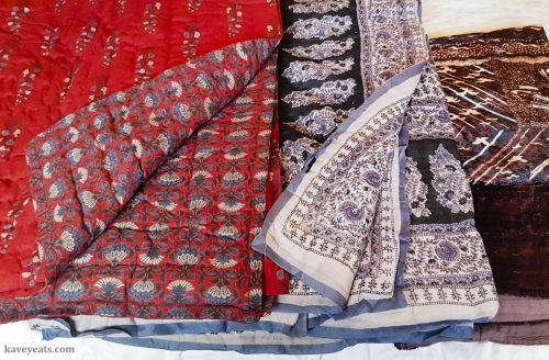 Indian quilted blankets from Jaipur