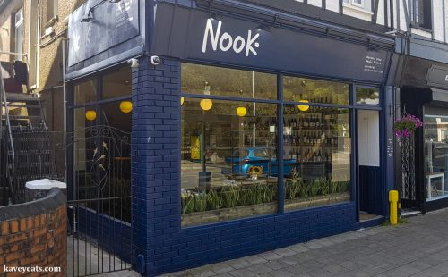 Nook restaurant in Cardiff
