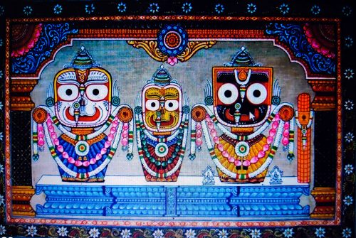 The best souvenirs to buy from India - pattachitra cloth scroll painting