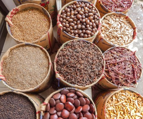 Spices from Kerala, India