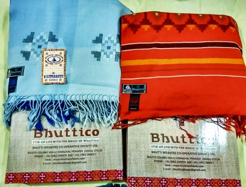 Bhuttico Kullu Shawl from the Himalayas