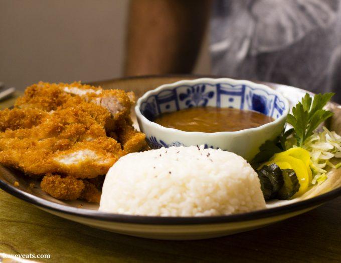 Chicken Katsu Curry at Noa Japanese Restaurant in Bristol